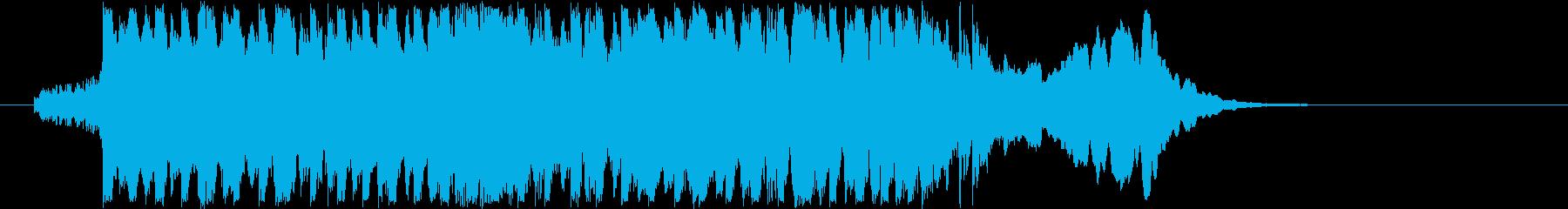 ストリングスのスタッカート ~始まり~の再生済みの波形