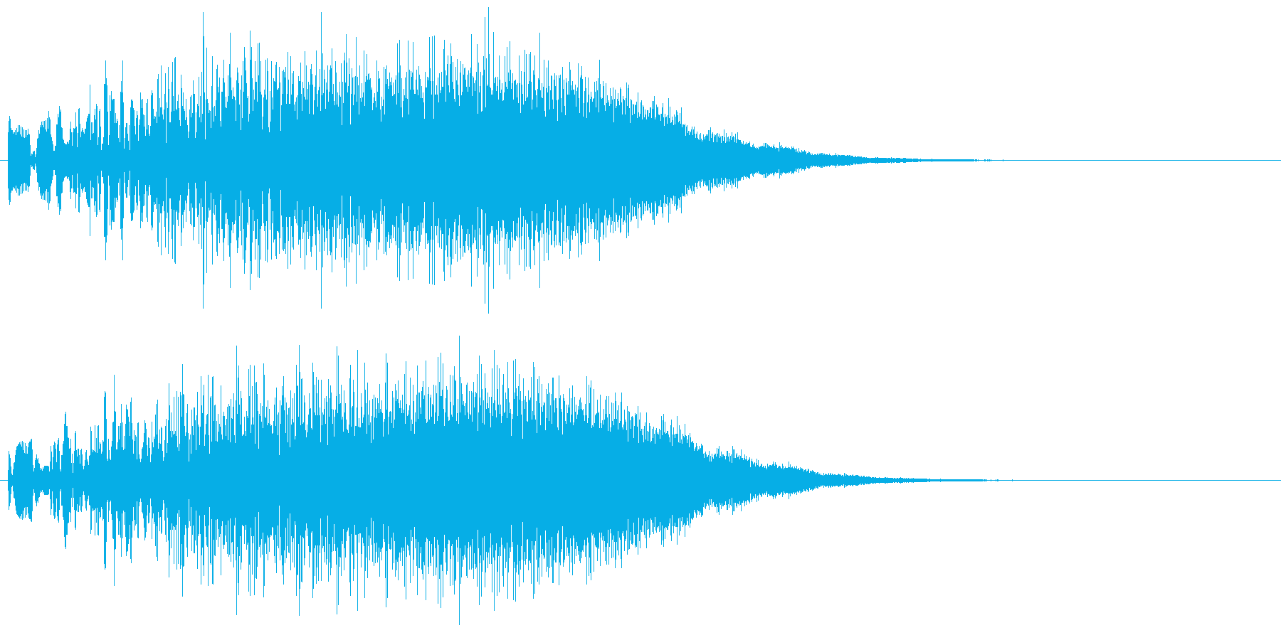 ポワワワン↑(パワーアップ・エネルギー)の再生済みの波形