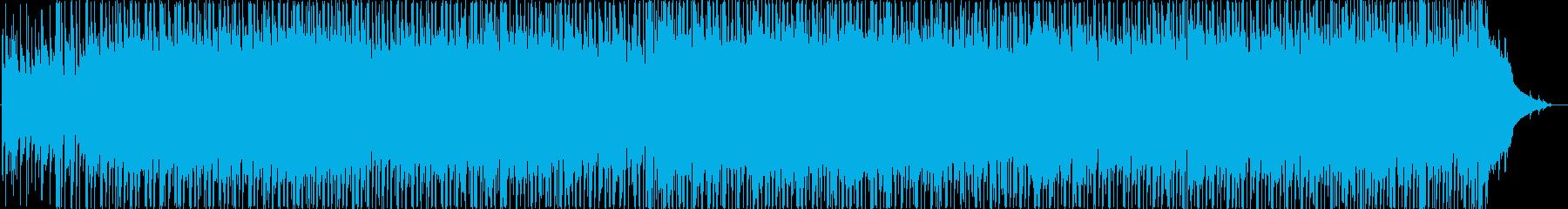 アコーディオンベースとドラムを備え...の再生済みの波形