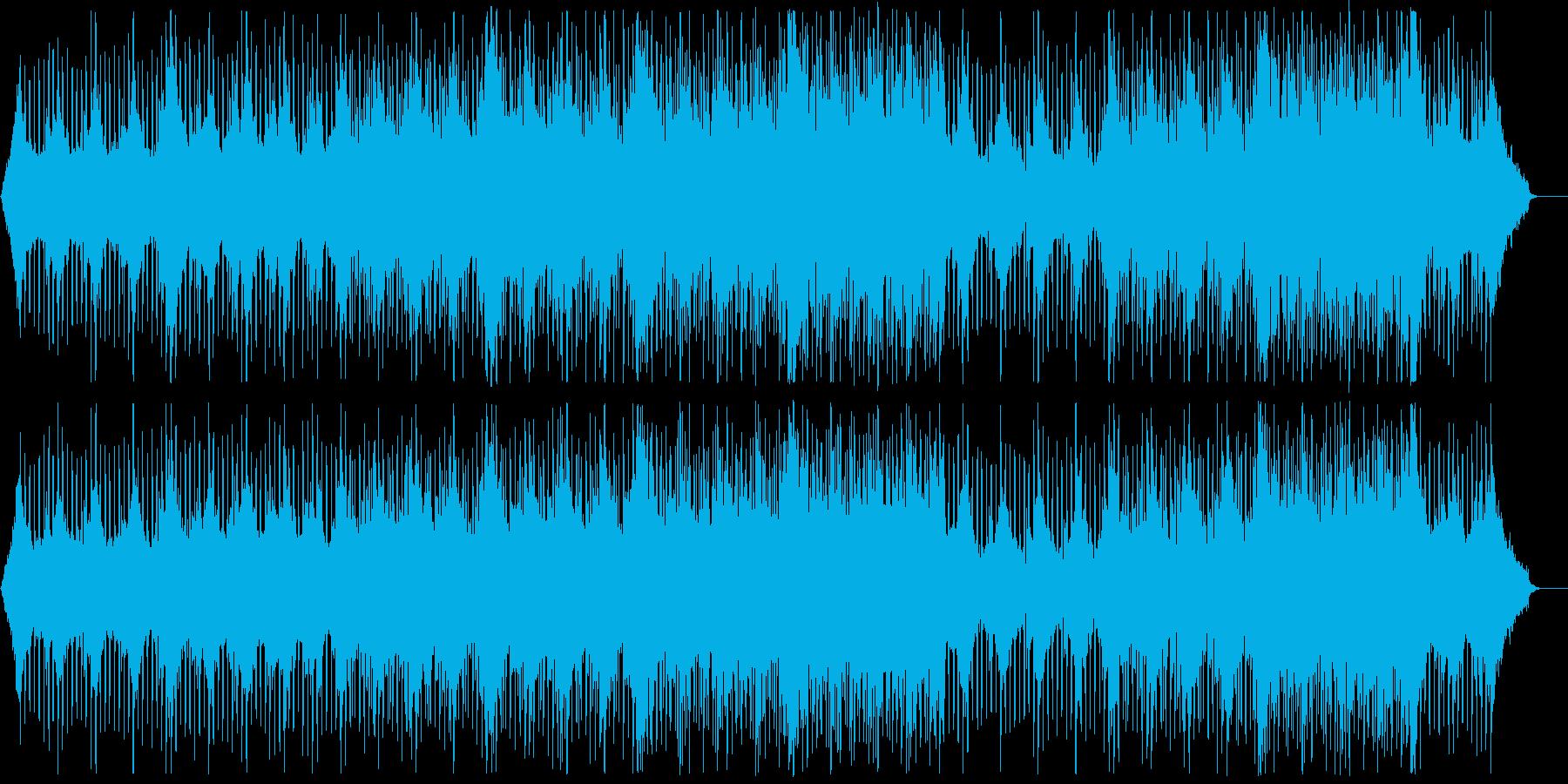 グローバル企業風ピアノ&ギター:メロ無4の再生済みの波形