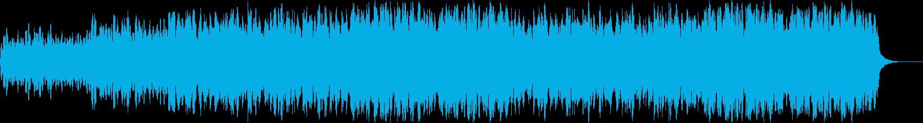 楽しく軽快なアイリッシュ・ポルカの再生済みの波形