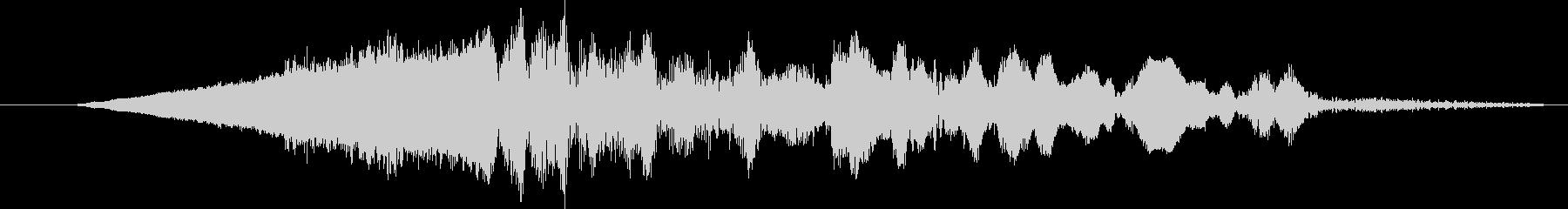 ローエリーランブルスローフェードインの未再生の波形