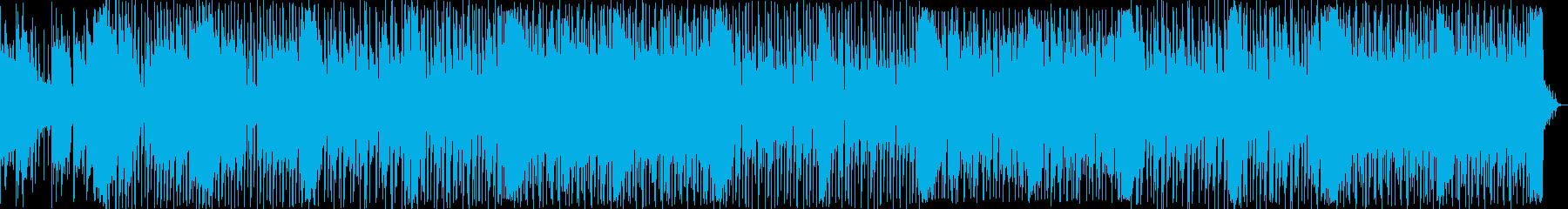 切なくても力強い意志を感じるBGMの再生済みの波形