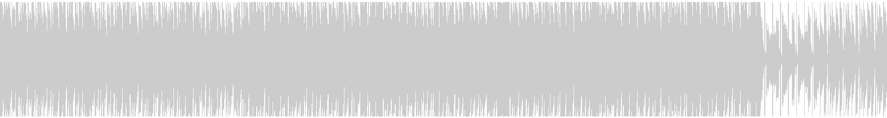 【ループ対応s】ポップな動画!軽快アコギの未再生の波形