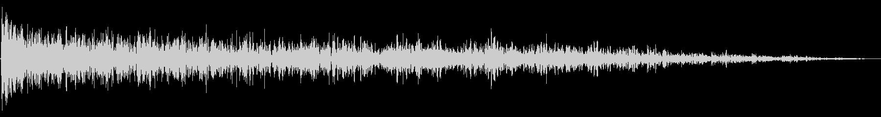 ブーミングランブルリングスイープ1の未再生の波形