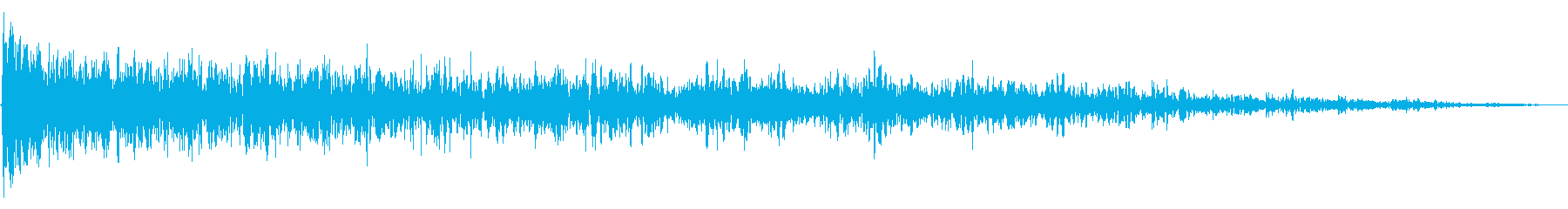 ブーミングランブルリングスイープ1の再生済みの波形