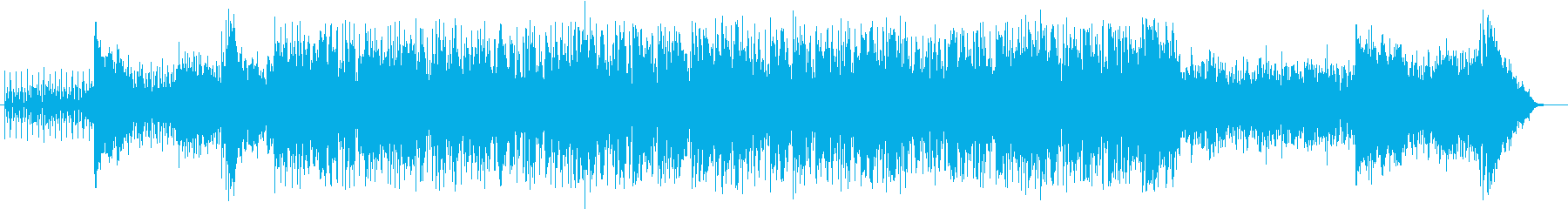 海辺のドライブに合う曲の再生済みの波形