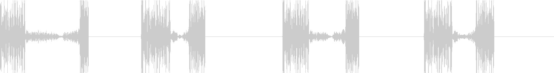 DJプレイ スクラッチ・ノイズ 171の未再生の波形