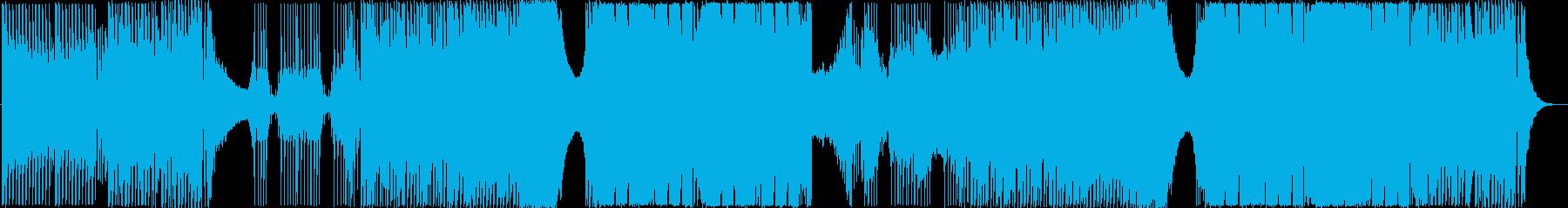 夏に盛り上がれるEDMの再生済みの波形