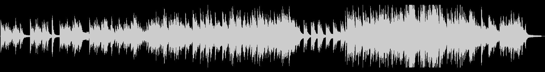 スタイリッシュなピアノ&フルート♪の未再生の波形
