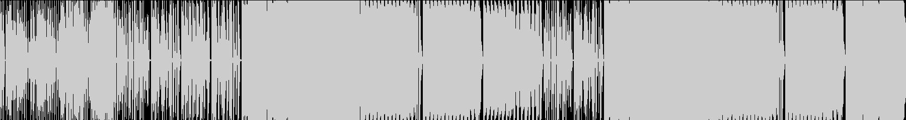 JPOPっぽい構成の8bitの曲の未再生の波形