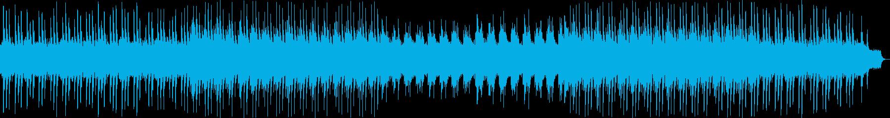 ロマンティックなヒーリングミュージックの再生済みの波形