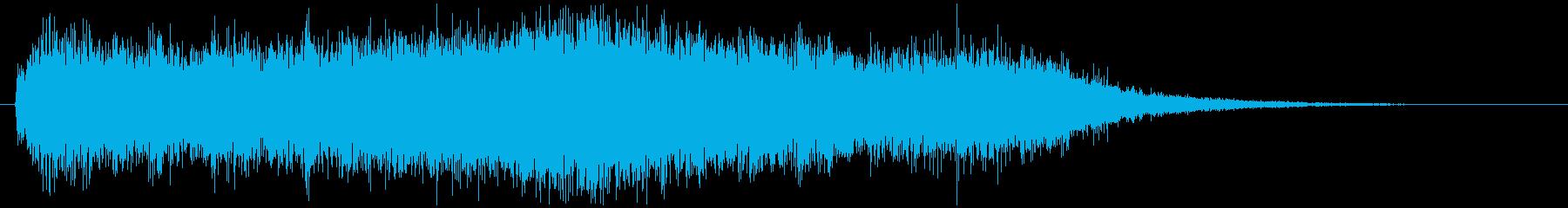 神秘的で幻想的なSFジングルの再生済みの波形