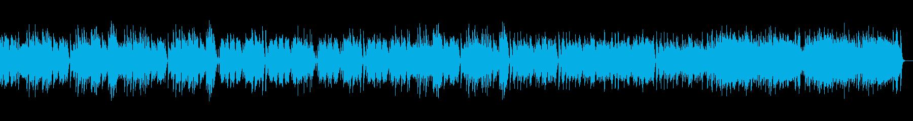 エリート・シンコペーションズ_オルゴールの再生済みの波形