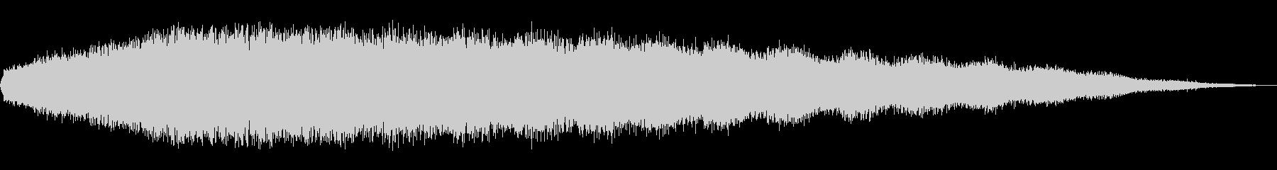 シューッという音EC07_80の未再生の波形