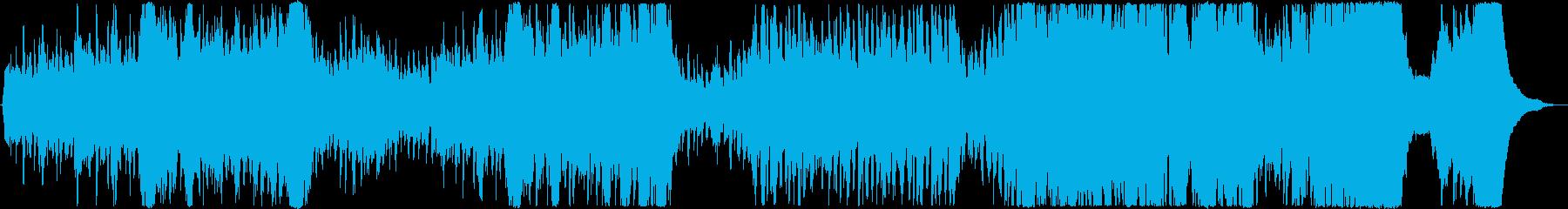 ラテン/スパニッシュ/情熱的/オケの再生済みの波形