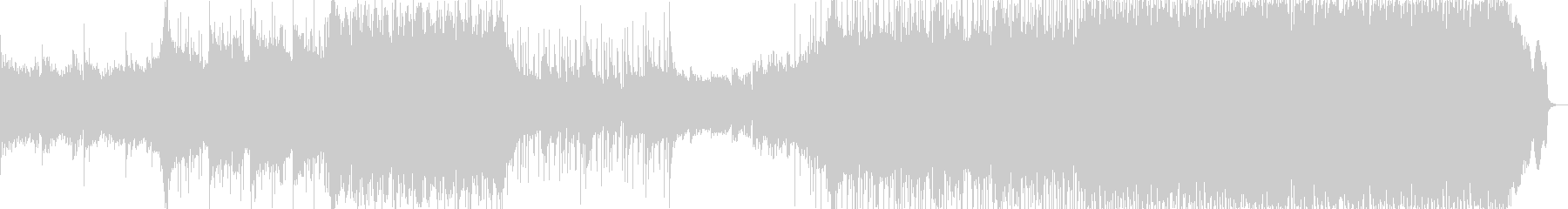 感動EDM-ROCK_BGMの未再生の波形