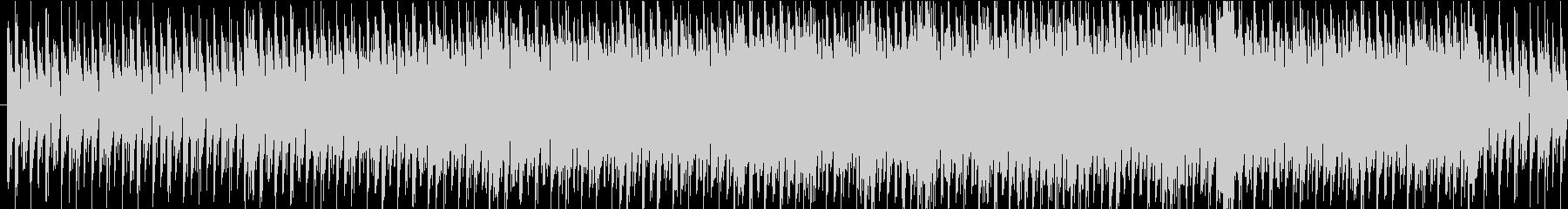 穏やかなプログレッシブハウスの未再生の波形