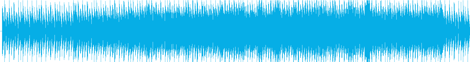 穏やかなプログレッシブハウスの再生済みの波形