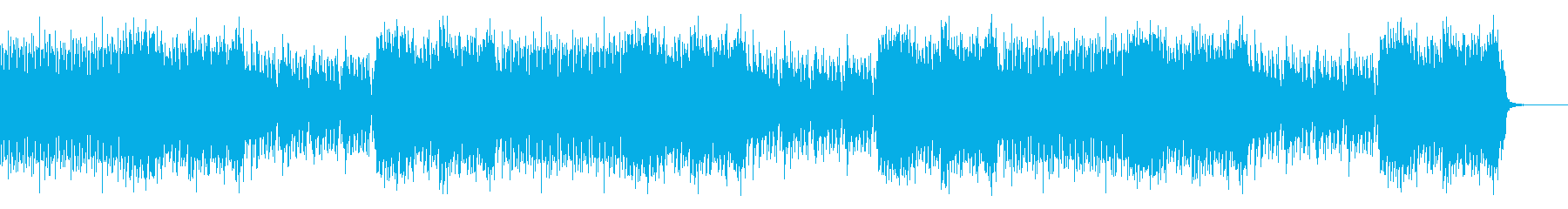 Chiptune for in-game battle scenes's reproduced waveform