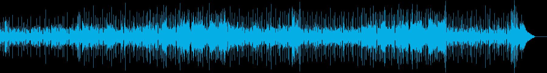 ファンキーなナンバーの再生済みの波形