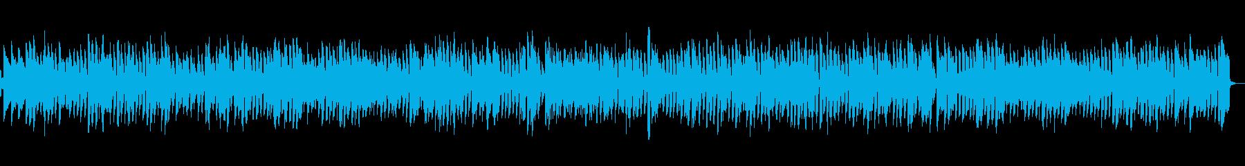 薄暗いバーのピアノジャズの再生済みの波形