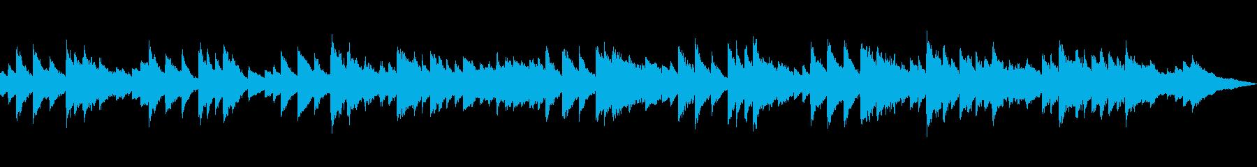 秋、紅葉に合うピアノ曲(サビのみループ)の再生済みの波形