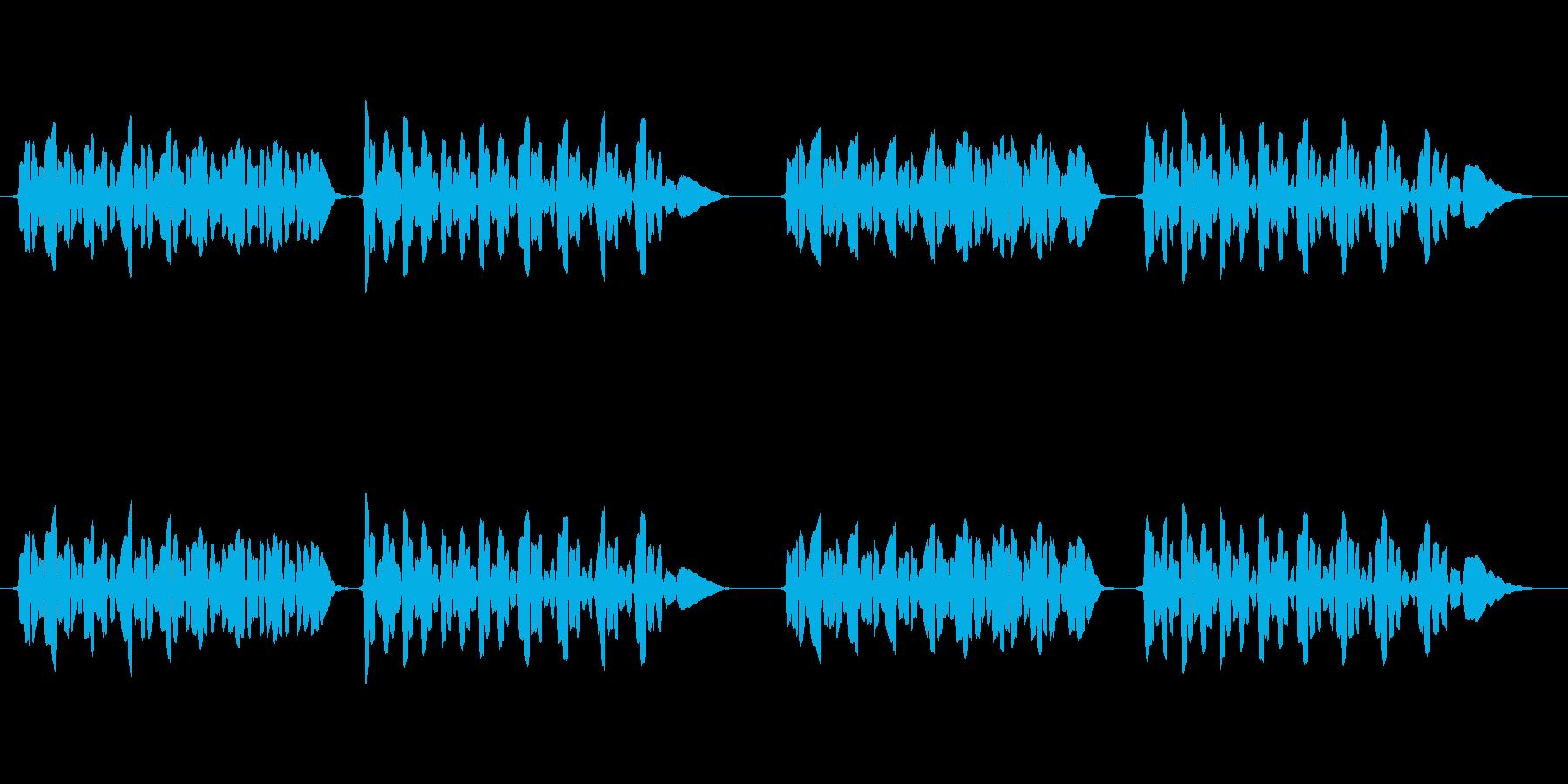 sax1本の曲です。の再生済みの波形