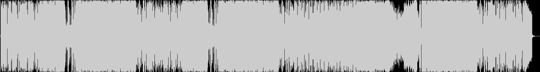 和風 三味線激ロック/重厚スピードメタルの未再生の波形