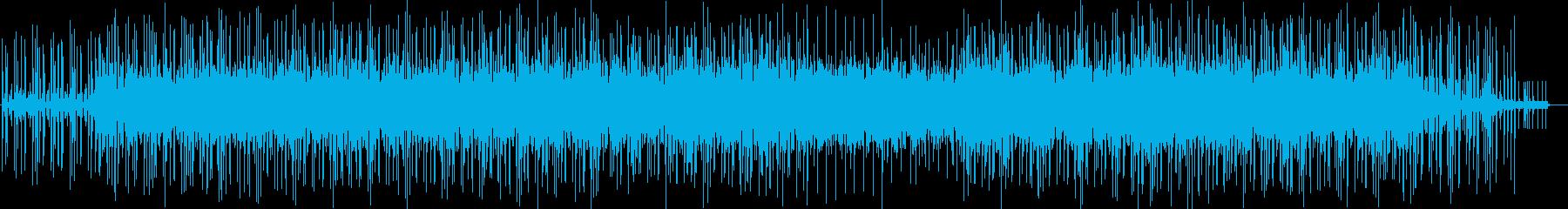 劇伴 ゆったりとしたミニマルファンクの再生済みの波形