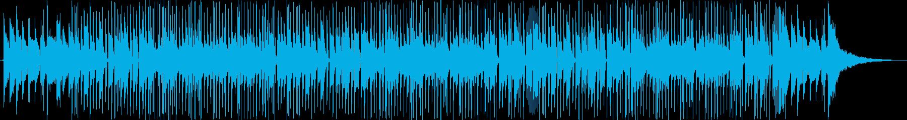 ラガエトン。ラテンアーバン。少ない配置。の再生済みの波形