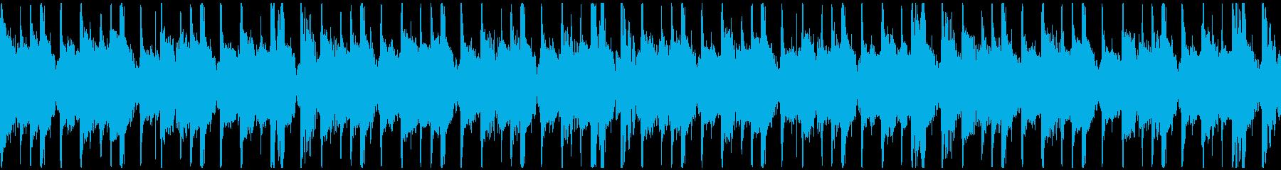 トロピカル・おしゃれ・チルアウトループの再生済みの波形