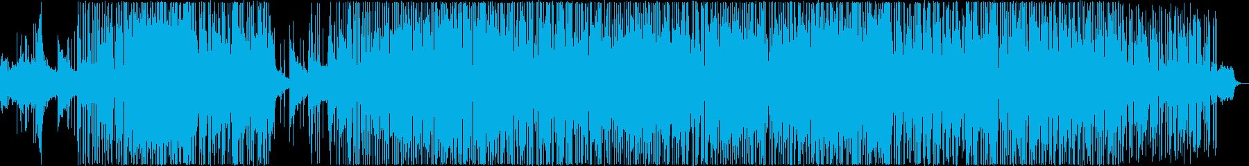 疾走感のある不思議な曲ですの再生済みの波形