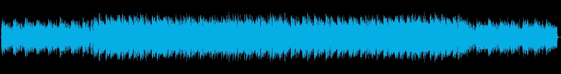 LofiエレピBGMの再生済みの波形
