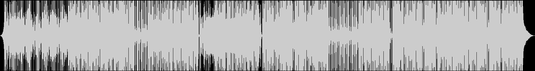 ゆるやかなレゲエポップスの未再生の波形