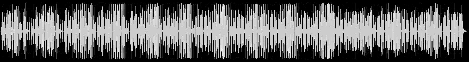 空間的でメタリックなテクノの未再生の波形