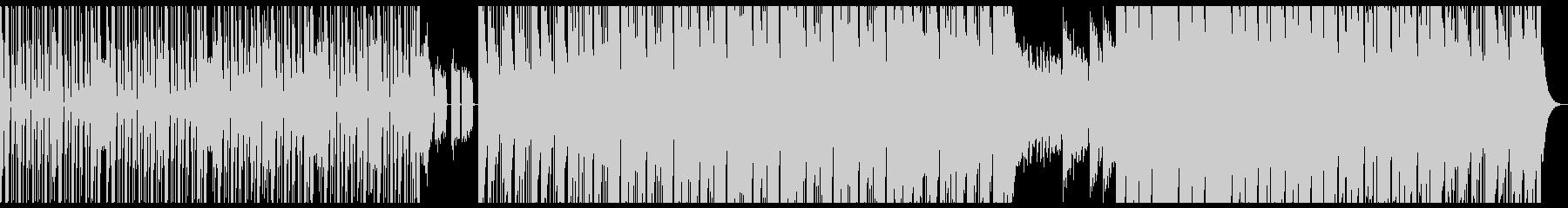 パワーがみなぎる演出をしたヒップホップの未再生の波形