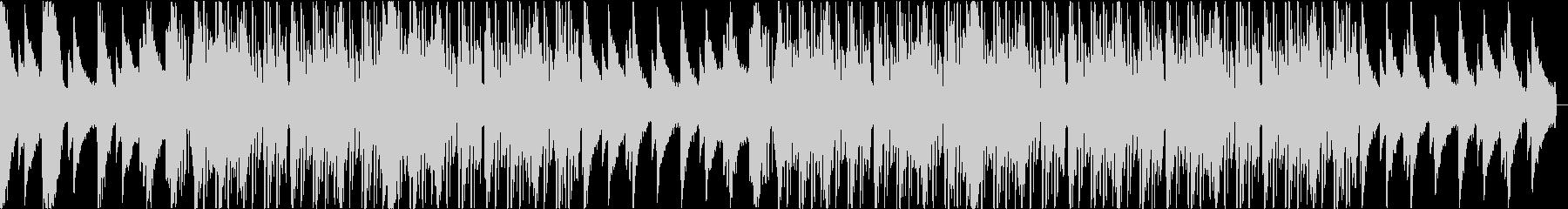 Lofi,ローファイヒップホップ2の未再生の波形