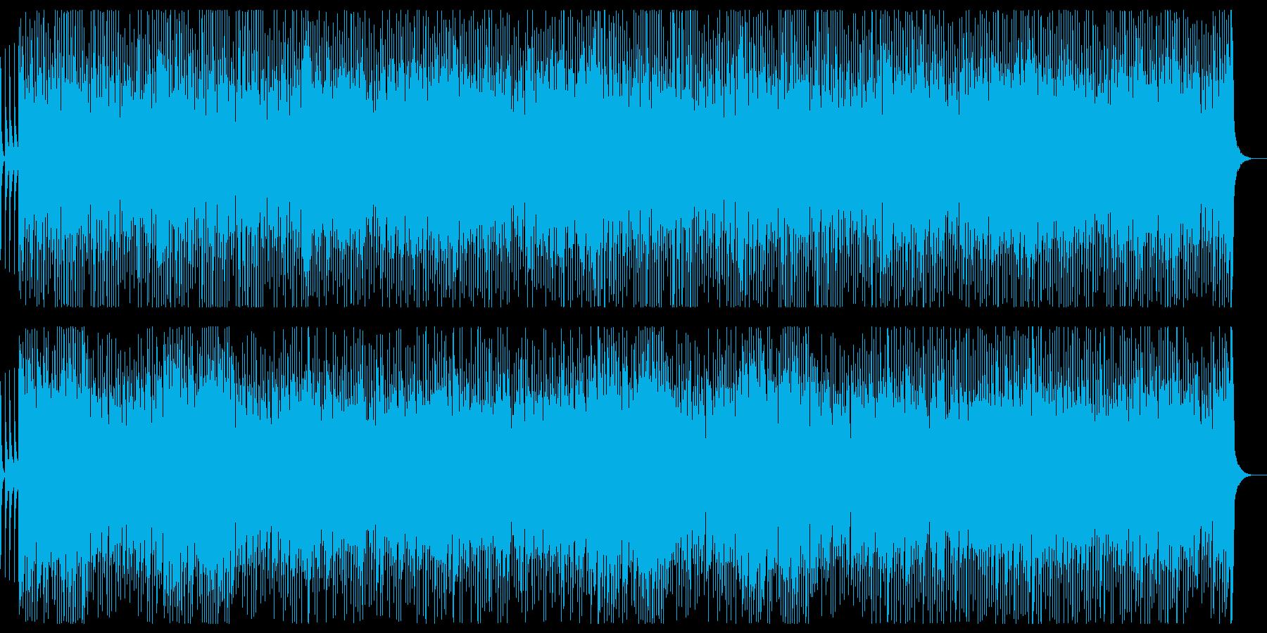 箏・笛メインのめでたくゆかいな和風楽曲の再生済みの波形