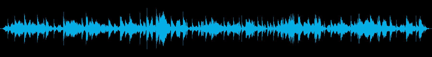 瞑想にクリスタルボウルヒーリング5の再生済みの波形