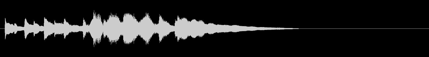 バス発車音 田舎 ほのぼの チャイムの未再生の波形