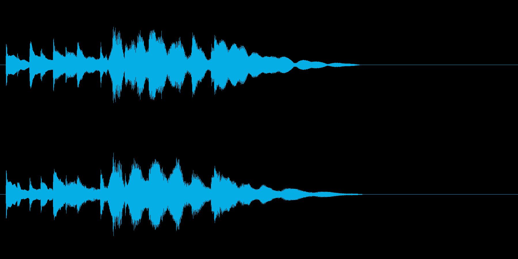 バス発車音 田舎 ほのぼの チャイムの再生済みの波形