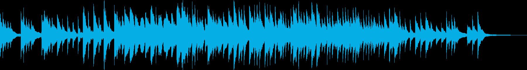 儚げで温もりのあるピアノアンビエント の再生済みの波形