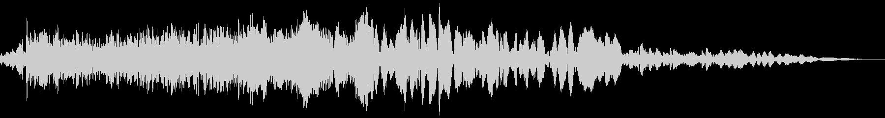 車 レース ブレーキ/タイヤスキール音3の未再生の波形