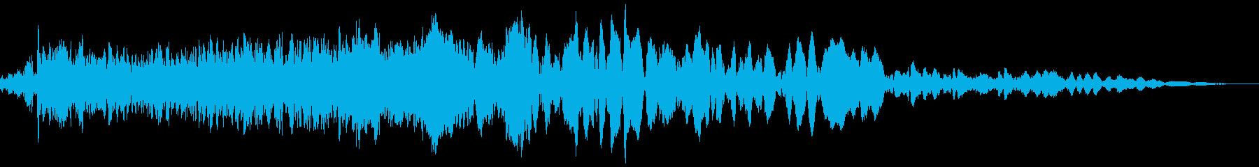 車 レース ブレーキ/タイヤスキール音3の再生済みの波形