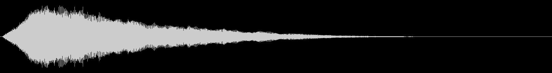 音楽効果;シンセサイズドエレキギタ...の未再生の波形