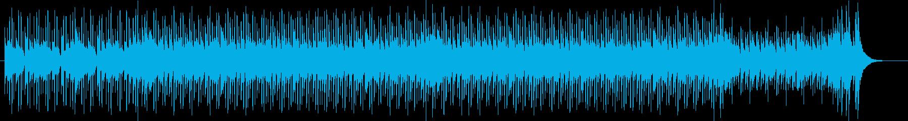 爽やかなラテンフュージョンの再生済みの波形