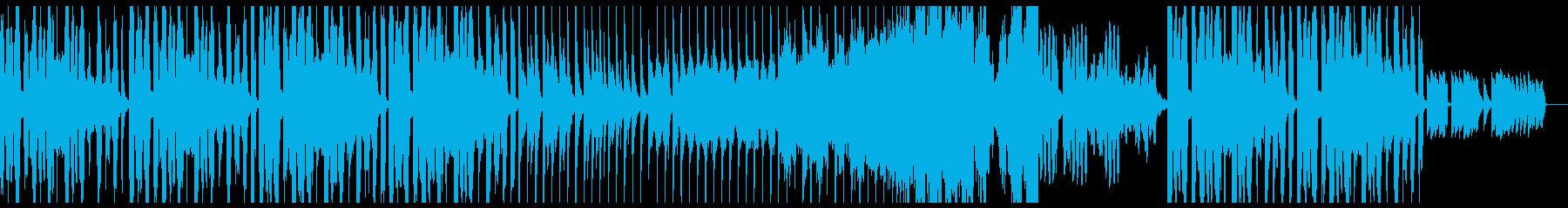 ハロウィン向け少しコミカルなBGMの再生済みの波形