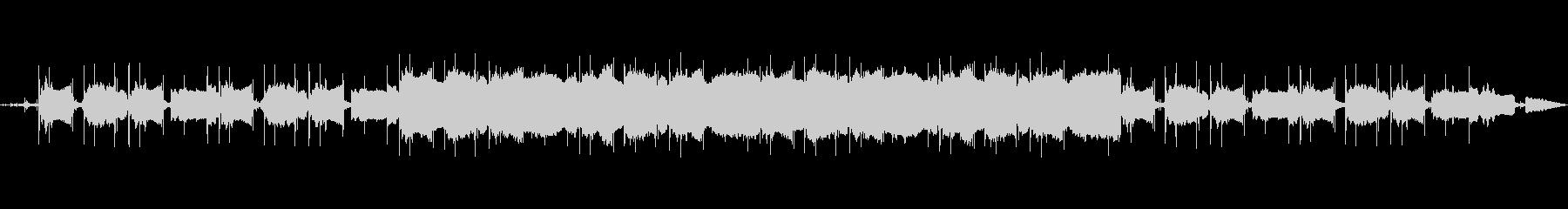 レコード調chillなLo-fiビートの未再生の波形