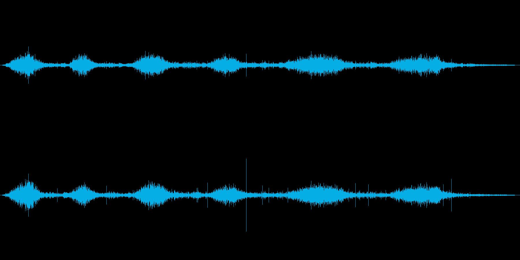 火炎放射器 ショートウーッシュマル...の再生済みの波形
